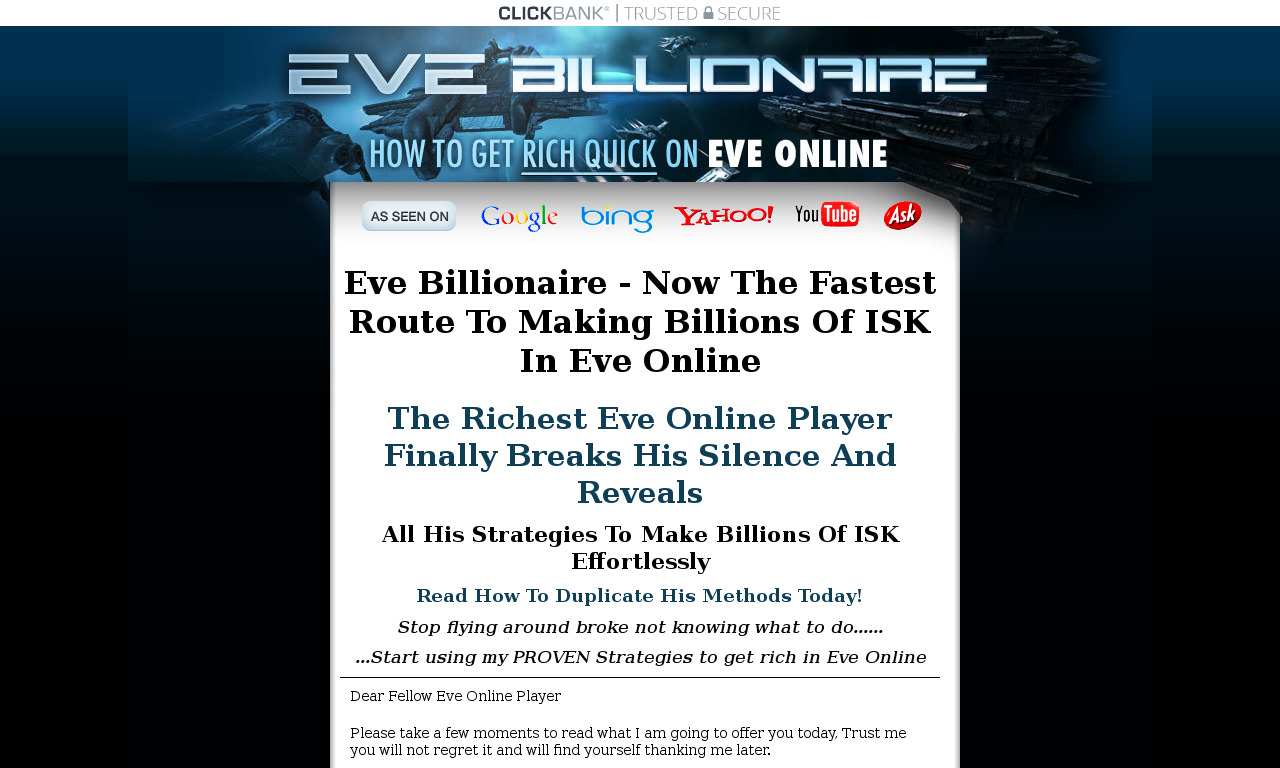 Eve Billionaire Membership