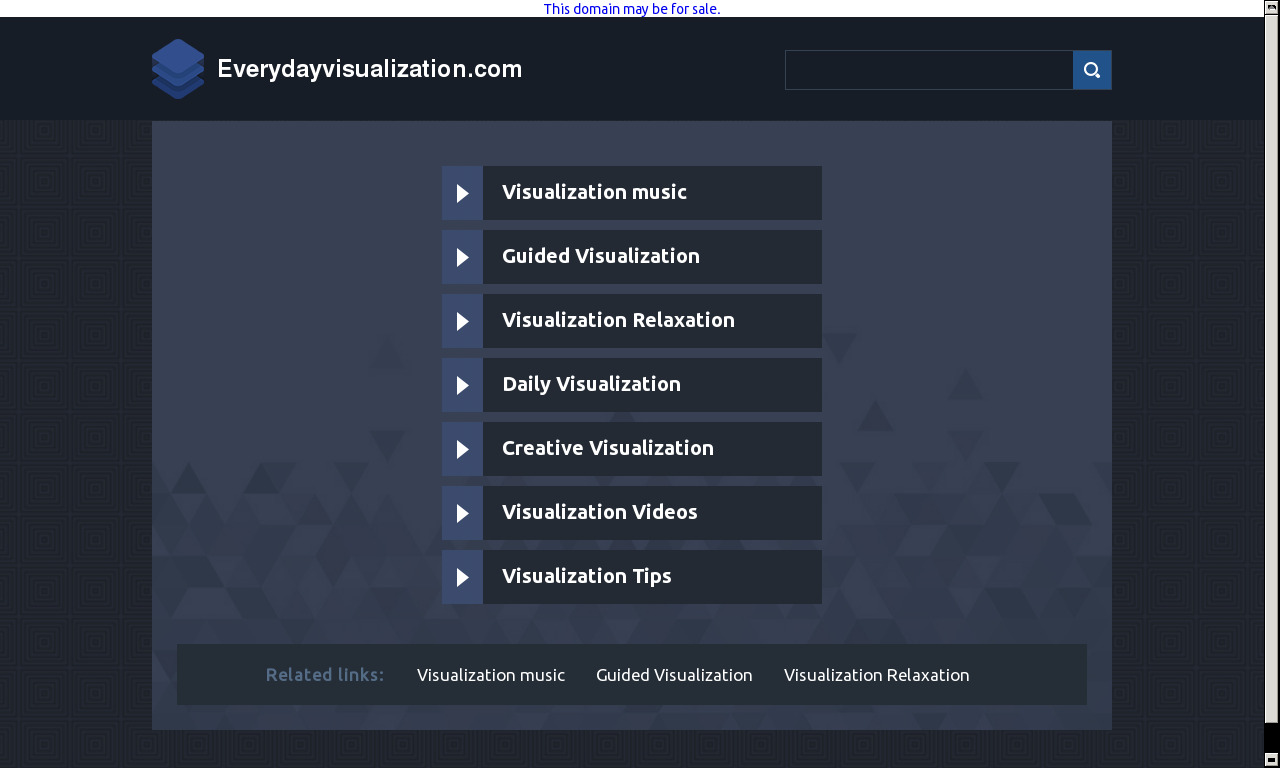 Everyday Visualization System | VIP Access