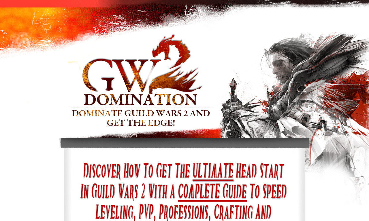 The a href='/external_link/377349'Guild Wars 2 Domination Guide /aHomepage