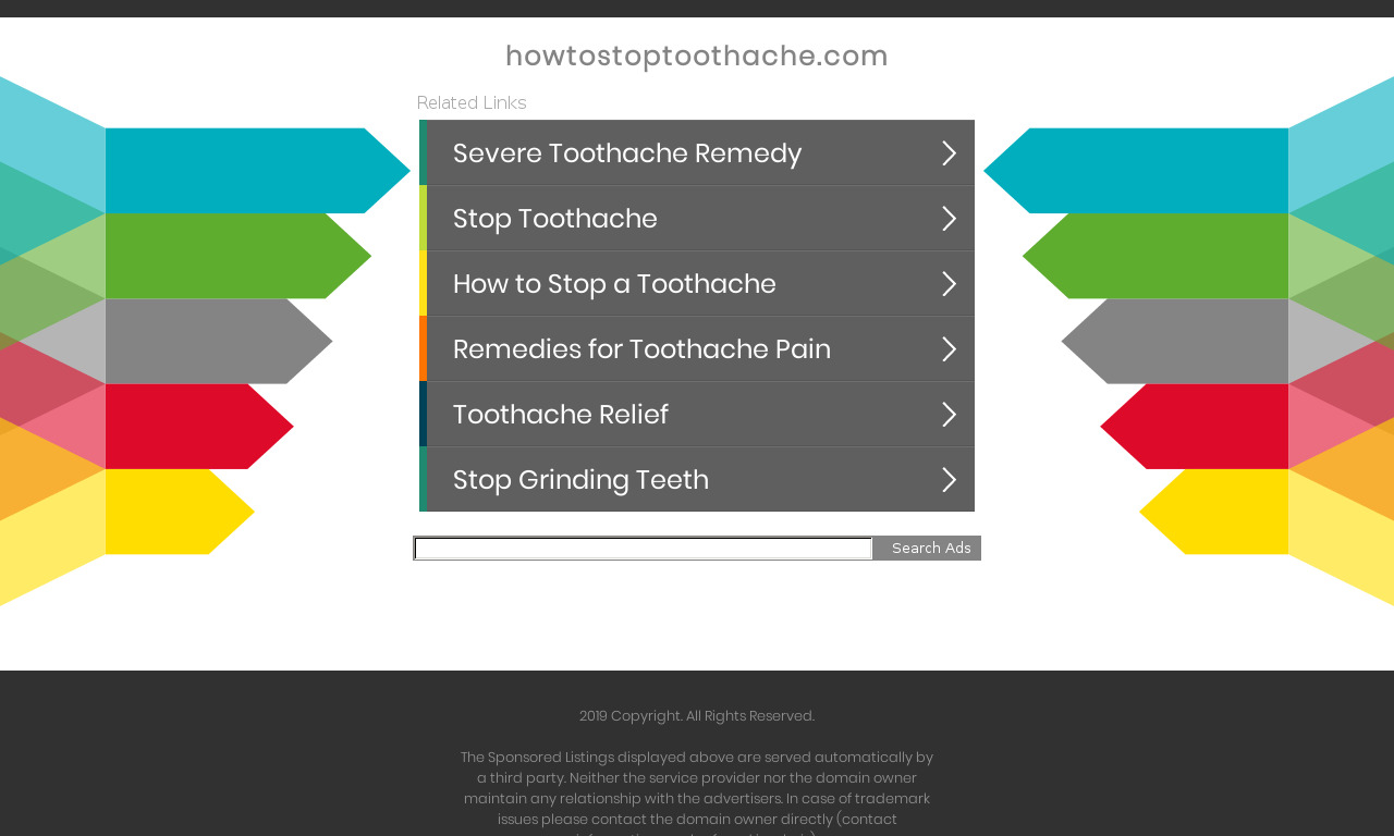 How to Stop Toothache in 10 Minutes!
