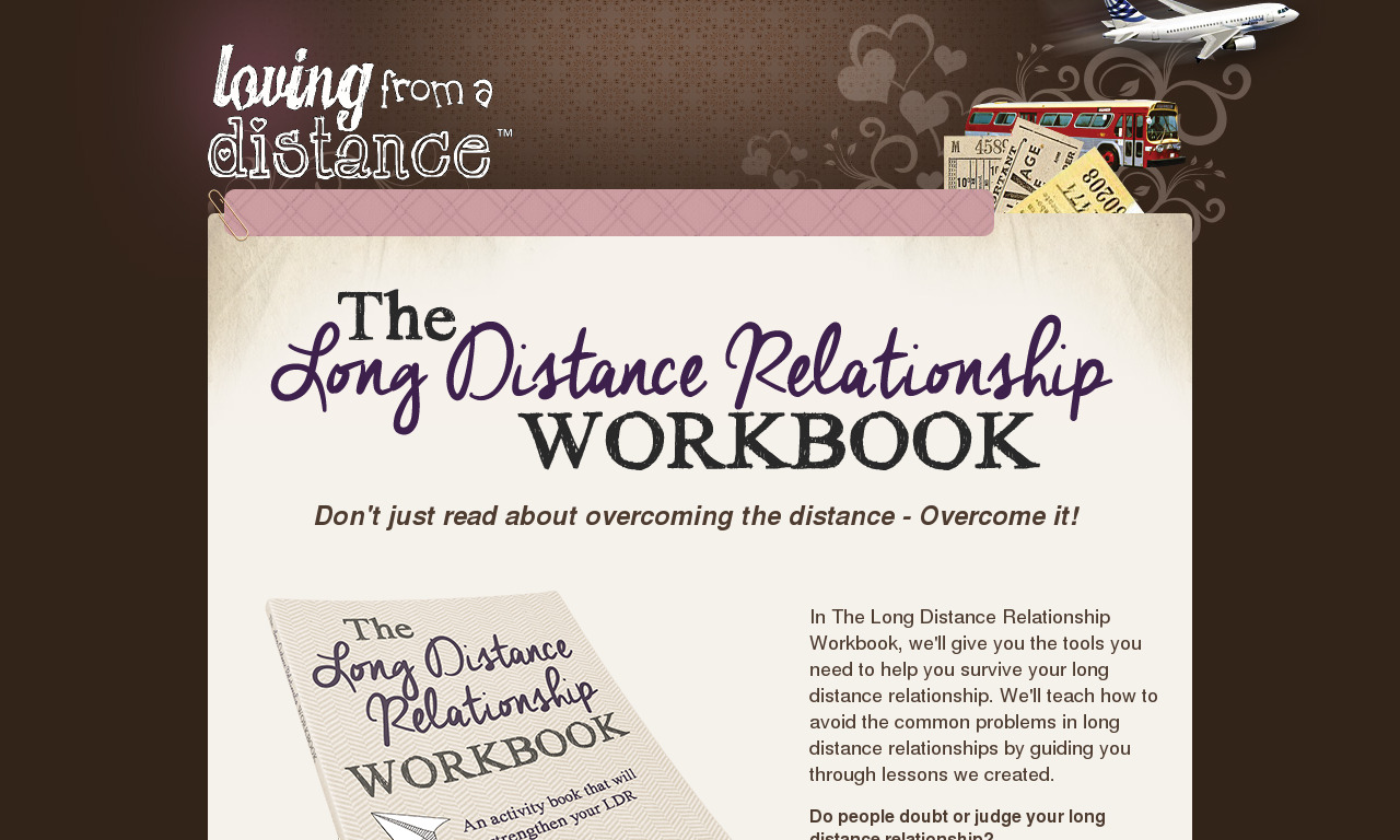 The Long Distance Relationship Workbook