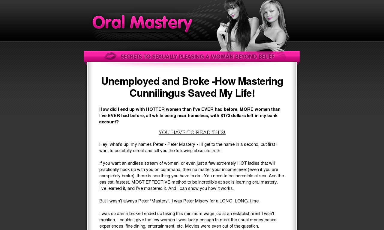 Oral Mastery