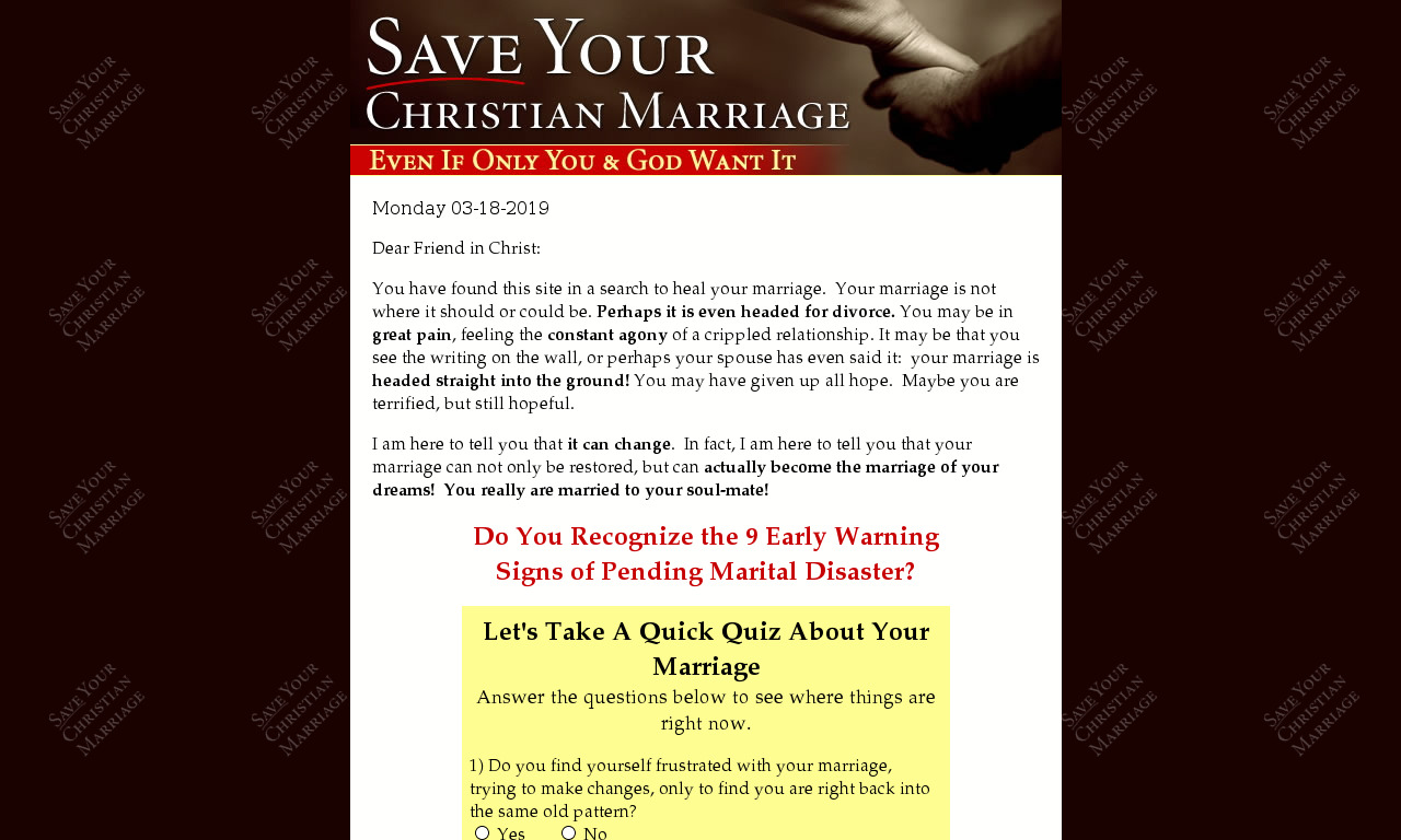 Save Your Christian Marriage Ebook & Special Reports, Incl Quick Start