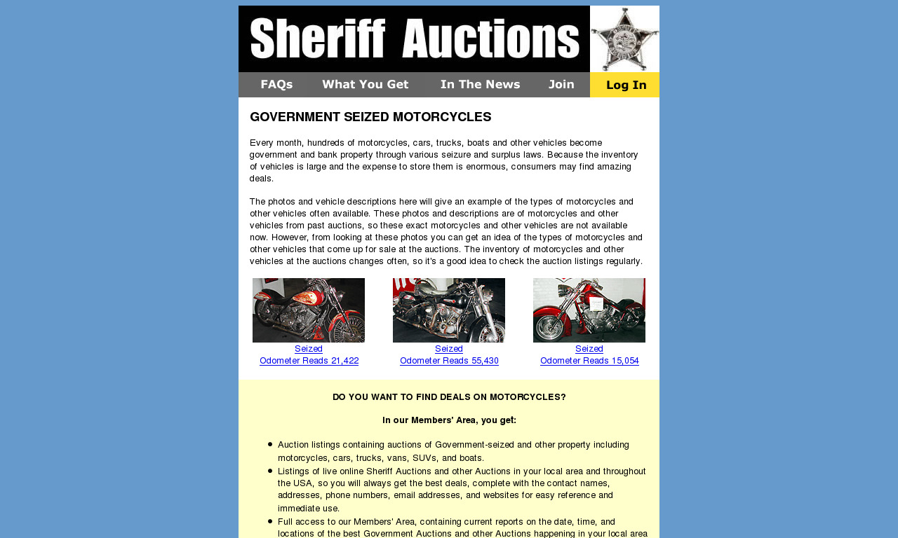 Motorcycle Auctions.