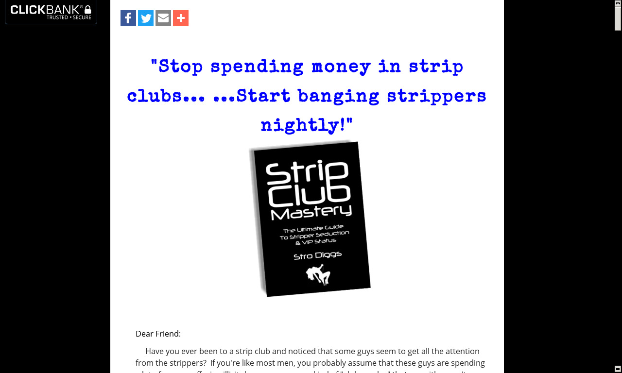 Strip Club Mastery