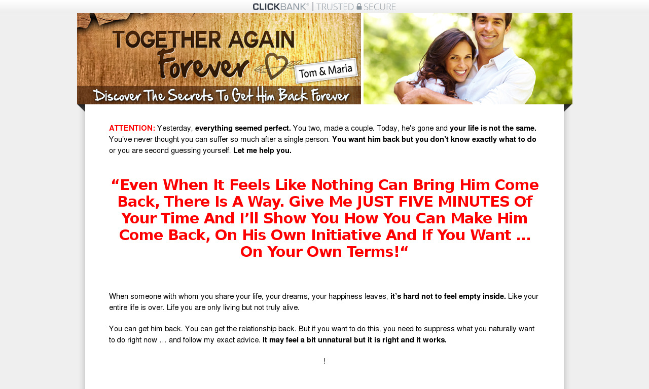 How to NEVER Get Dumped Again
