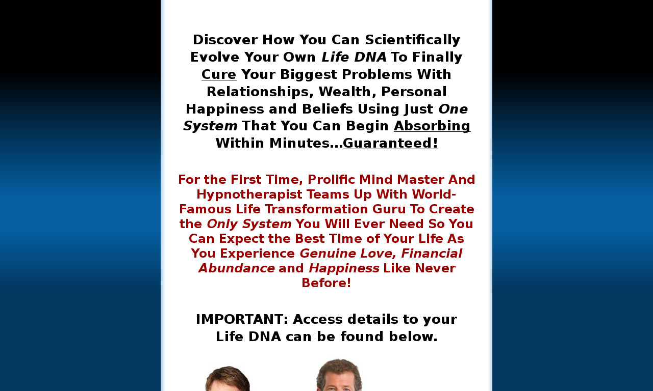 Ultimate Prosperity DNA