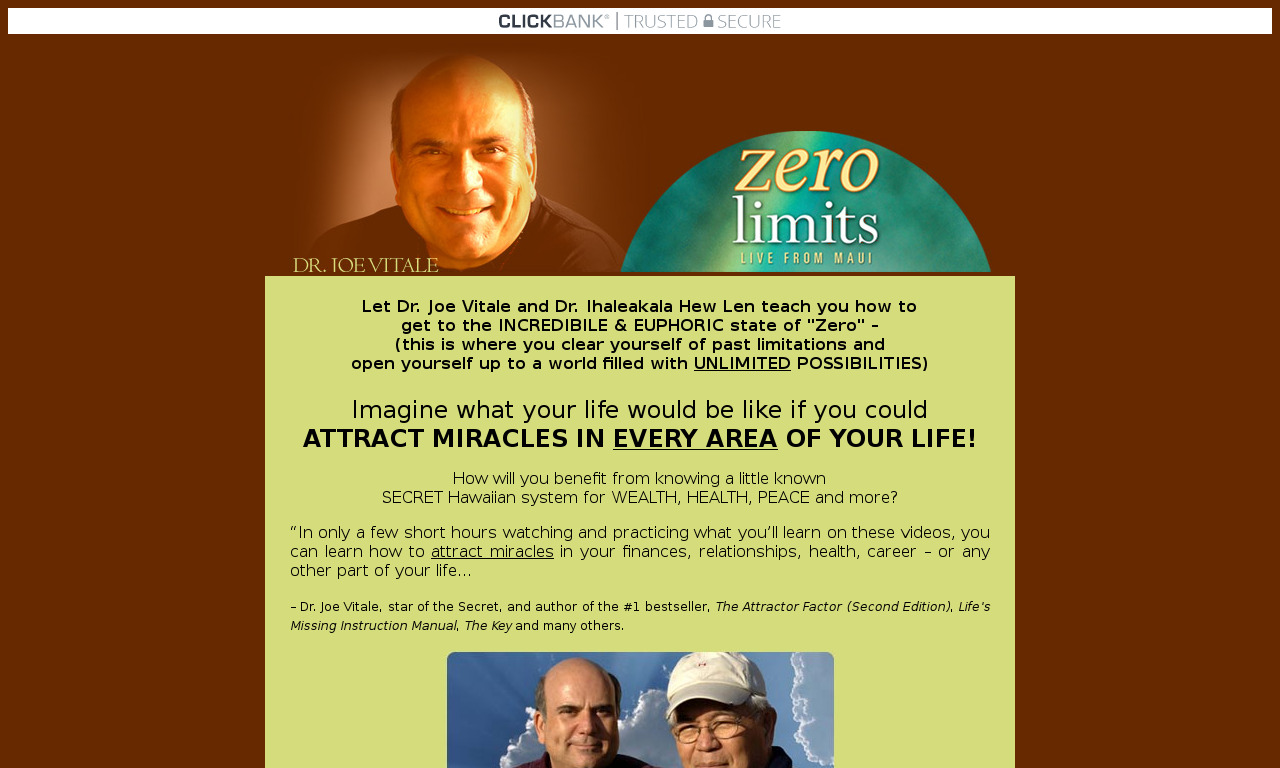 Zero Limits Live From Maui DVDs